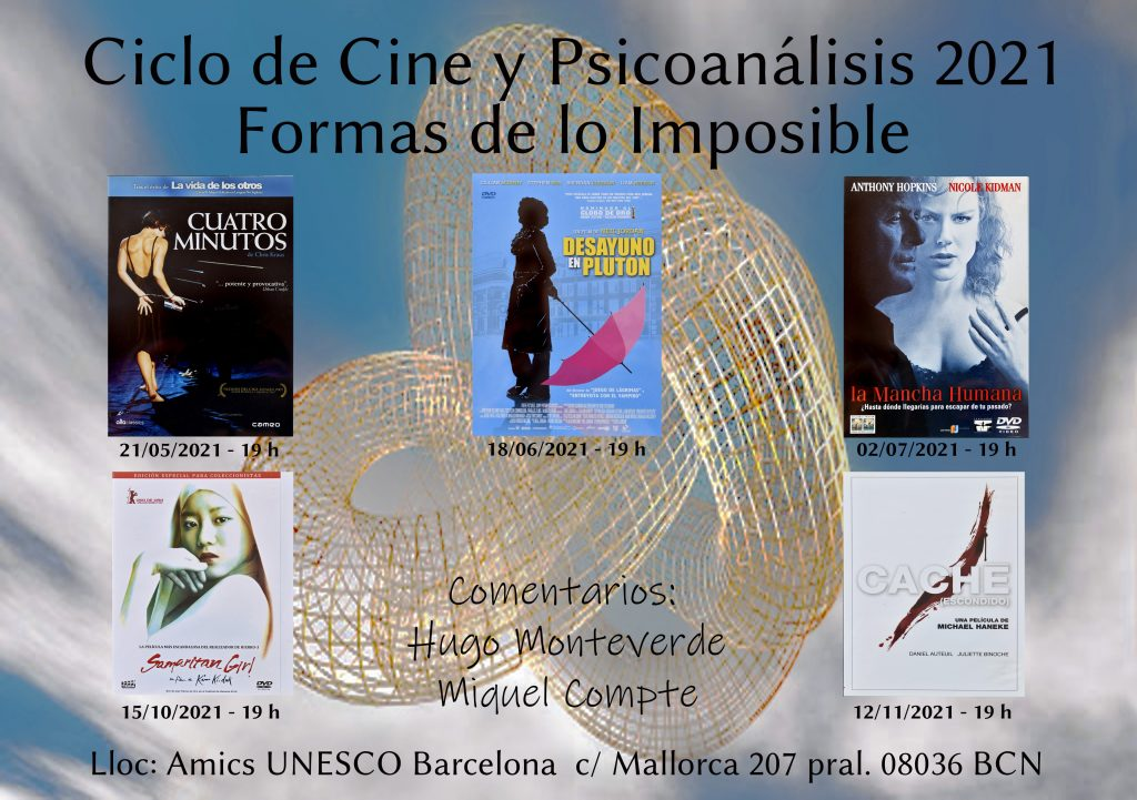 ciclo cine y psicoanalisis